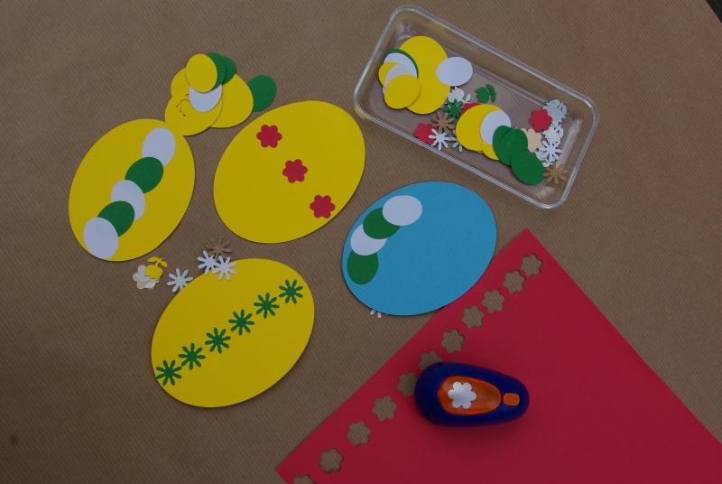 Velikonoční kraslice z papíru 7