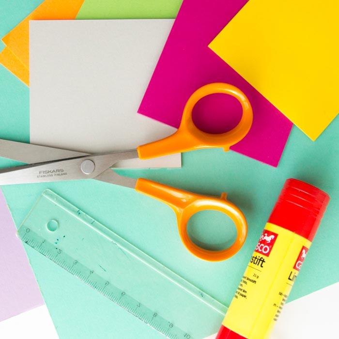 Tvoření - barevné květináče 1