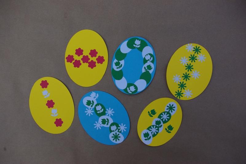 Velikonoční kraslice z papíru 8